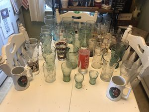 Coca Cola glass collection for Sale in Los Angeles, CA