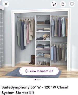Closet system starter kit brand new for Sale in New York, NY