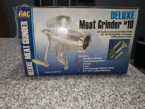 Meat grinder for Sale in Henry, IL