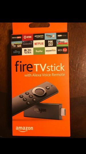 Amazon fire TV stick 4k with Alexa voice remote for Sale in Windcrest, TX