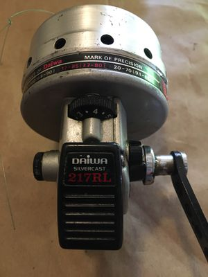 Fishing reel - Daiwa silvercast 217RL for Sale in Murrieta, CA