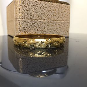 """18k gold filled 18k stamped bangle 8"""" openable for Sale in Silver Spring, MD"""