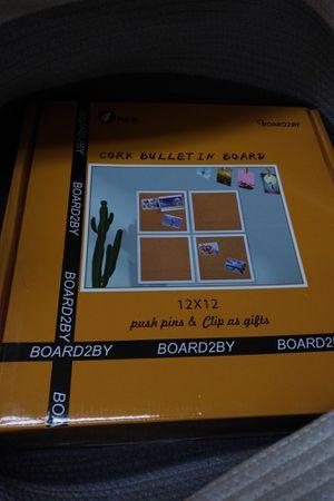 Cork bulletin board for Sale in Brooklyn, NY