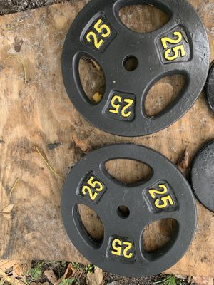 Gym weights 50 pounds for Sale in Miami Gardens, FL