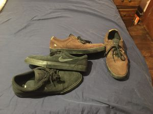 Nike sb & emerica skate shoes size 13 for Sale in Stanwood, WA
