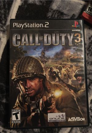 Ps2 call of duty 3 for Sale in Fresno, CA