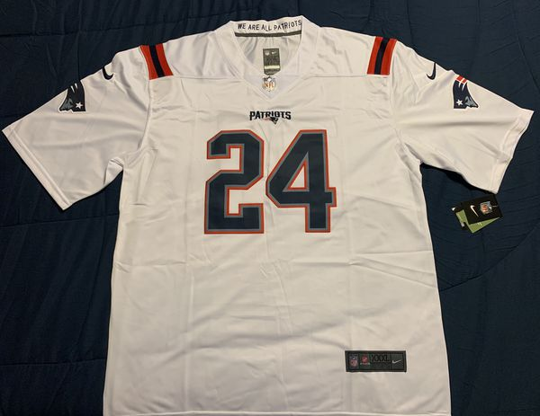 New England Patriots Stephon Gilmore Jersey