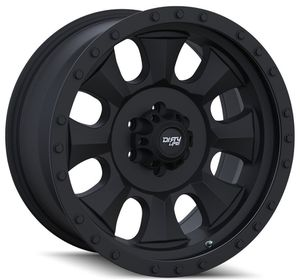 Brand new Dirty Life 17x8.5 matte black rims for Sale in Tampa, FL