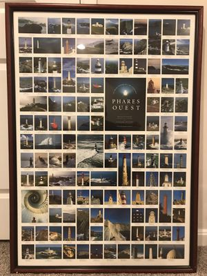 Phases Quest Lighthouses Framed for Sale in Stafford, VA