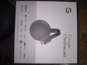 Google chromecast new in box for Sale in Bloomington, MN