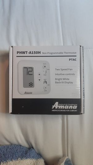 Amana non programmable thermostat for Sale in San Diego, CA