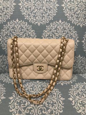 Chanel Jumbo Beige handbag for Sale in Euless, TX