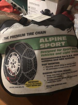 Snow chains for Sale in Vancouver, WA