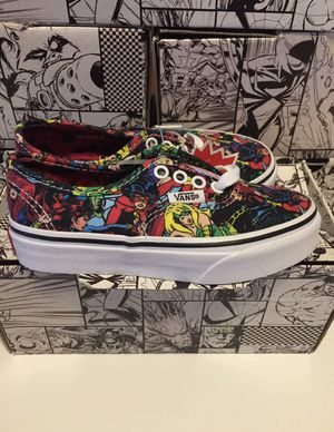 Vans Marvel Edition Brand New Youth Size 2 $20!!! Need Sold ASAP!!! for Sale in Austell, GA