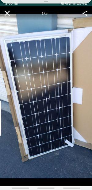 100 watt solar panel for Sale in Henderson, NV