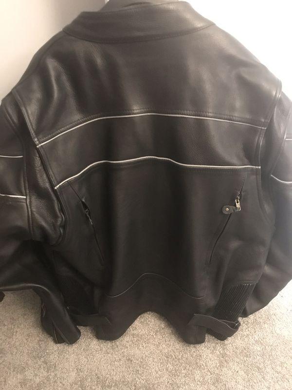 Leather Motorcycle Riding Jacket