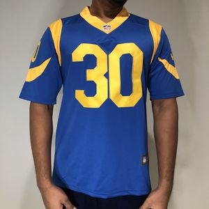 Todd Gurley II Blue Rams 30 Jersey for Sale in Los Angeles, CA