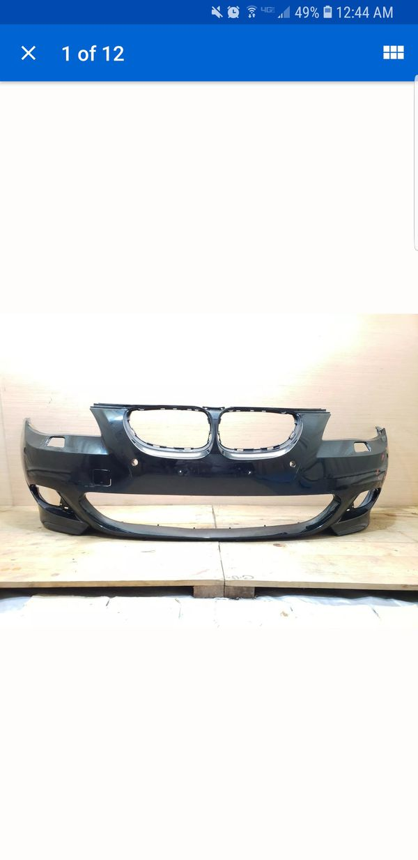 2008 2009 2010 BMW 550 M SPORT FRONT BUMPER cover OEM