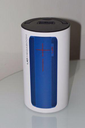 New ue megaboom Bluetooth speaker. Blue/black for Sale in Hillcrest Heights, MD