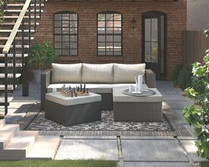 New outdoor patio furniture sectional sofa chaise tax included free delivery for Sale in Hayward, CA