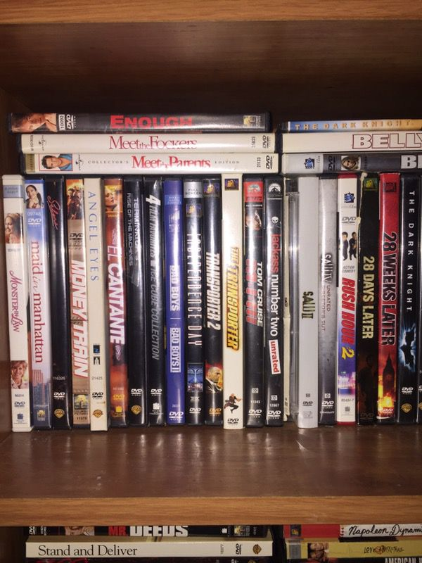 DVD 2 dollars a piece