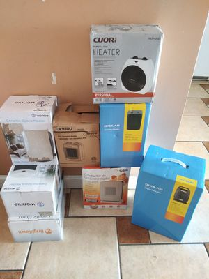 BRAND NEW ELECTRIC HEATERS,YOU CAN TEST IT BEFORE YOU PURCHASE FOR ANY QUESTION TEXT ME ANY TIME HABLO ESPAÑOL for Sale in Los Angeles, CA