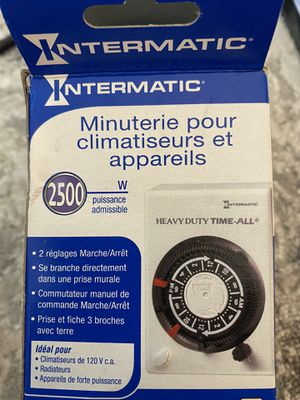 Intermatic HB113 Air Conditioner & Appliance 2500 Watt Capacity T-Plug Timer for Sale in Henderson, NV