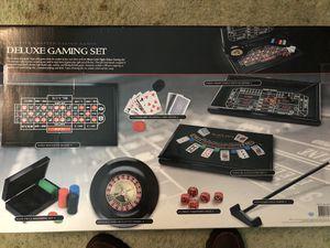 Trump Casino Deluxe Gaming Set for Sale in Lindenwold, NJ