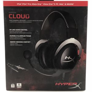 HyperX Cloud Pro Gaming Headset- Silver, In Line Audio Control for Sale in Los Angeles, CA
