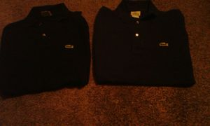 Lacoste long sleeve shirts medium pick up or PayPal for Sale in Los Angeles, CA