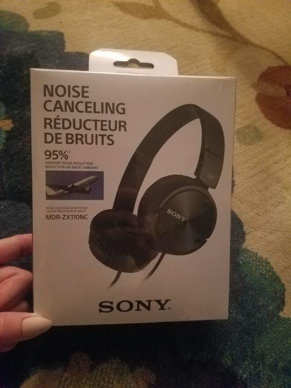 New Sony headphones