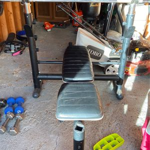 Bench Press Set for Sale in Renton, WA