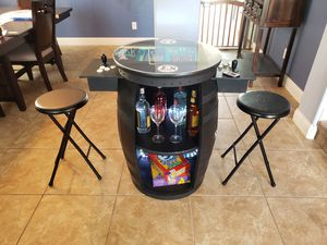 Arcade - with bar / storage *Limited Edition All Black JD Barrel* over 400 games for Sale in Orlando, FL