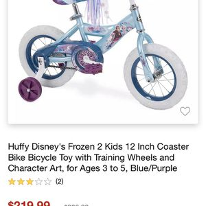 Frozen Toddler bike-New In Box for Sale in East Haven, CT