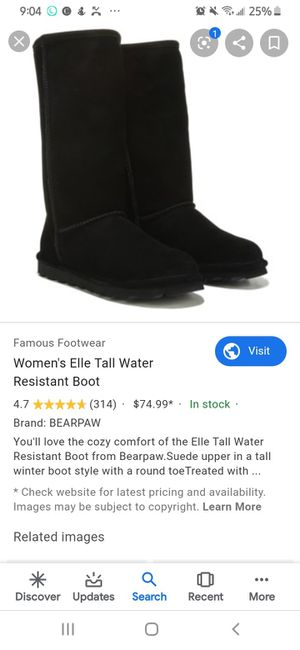 Black bearpaw boots for Sale in Westminster, CO