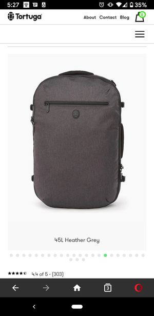 Tortuga Setout Travel Backpack (45L) - carry on laptop duffel for Sale in San Diego, CA