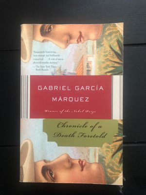 Chronicle of a Death Foretold by Gabriel Garcia Marquez for Sale in Miami, FL