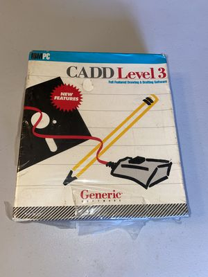 CADD Level 3 Generic Software for Sale in Wildomar, CA