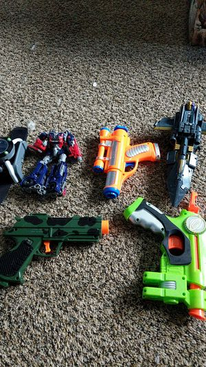 Transformers, toy guns, and Ben 10 watch for Sale in Vancouver, WA