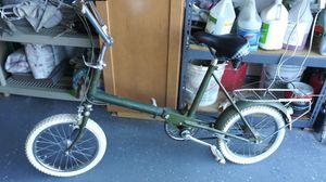 1966 Raleigh RSW-16 Green Folding Bike for Sale in Mesa, AZ