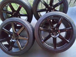 VENDO RINES MANCA NICHE. ZAIZ 20X9. 5X114.3. ESTAN NUEVOS for Sale in UNIVERSITY PA, MD