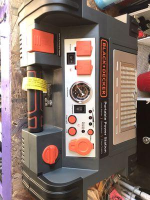 Black + decker portable power station for Sale in Grand Rapids, MI