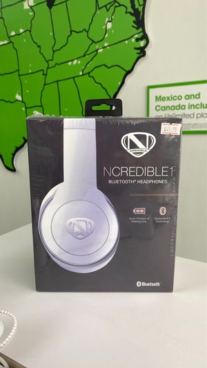 NCredible1 Bluetooth Headphones for Sale in Amarillo, TX