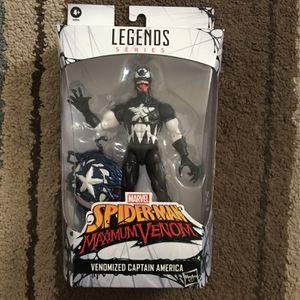 Marvel Legends Series Spider-Man Maximim Venom Venomized Captain America for Sale in Chula Vista, CA