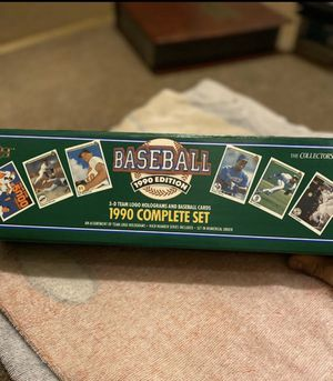 1990 Upper Deck Baseball Card Set for Sale in Whittier, CA