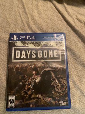 Days Gone ~ PS4 for Sale in Suwanee, GA