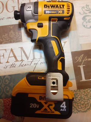 Dewalt 20v xr brushless 3 speeds impact drill with battery for Sale in San Jose, CA