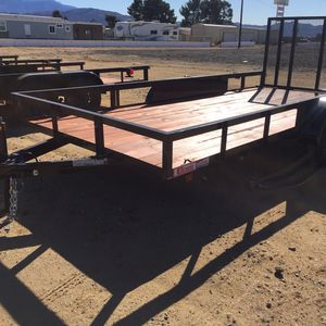 New 7x16 Utility Trailer for Sale in Beaumont, CA