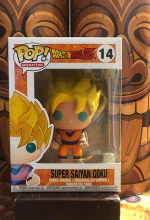 Dragonball Z: SS Goku Funko Pop for Sale in Gilroy, CA