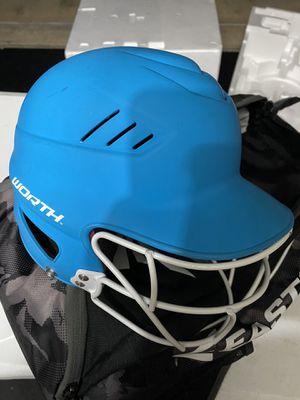 Softball equipment glove helmet mask bag for Sale in Pasadena, TX